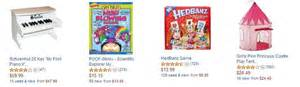 Selection of gifts for girls aged 5 to 8 including actual reviews