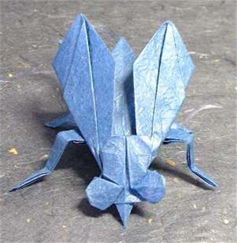 Fly Origami - origami flies gilad s origami page