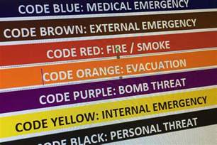 hospital code color meanings royal hobart hospital colour codes of differing emergency