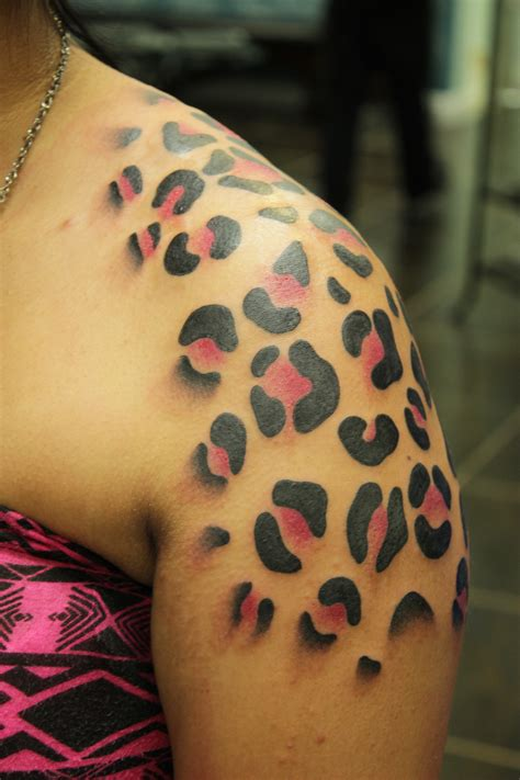 leopard tattoo cheetah print tattoos designs ideas and meaning tattoos