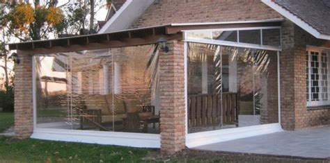 cortinas de plastico para terrazas cortinas pl 225 sticas vista