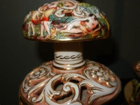 Antique Capodimonte Ls by Vintage Capodimonte Table Ls From Mygrandmotherhadone