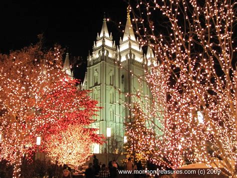 panoramio photo of lds salt lake temple with christmas