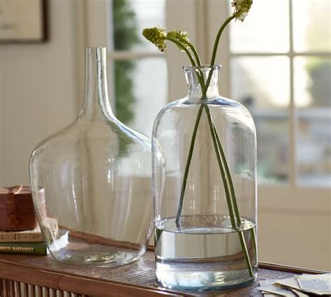Pottery Barn Wall Vase by Clear Glass Vases Pottery Barn