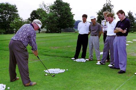 moe golf swing moe norman golf s greatest ball striker wsj