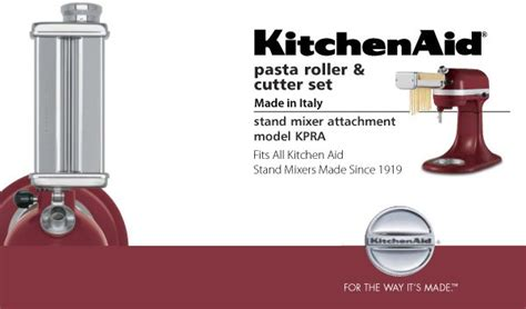 KitchenAid® Pasta Roller & Cutter Attachment