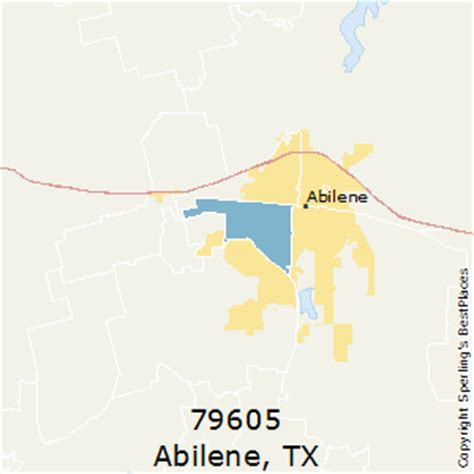 abilene texas zip code map best places to live in abilene zip 79605 texas