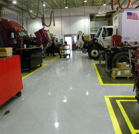 Commercial Flooring Systems by Large Commercial Epoxy Floor Coatings System Garage