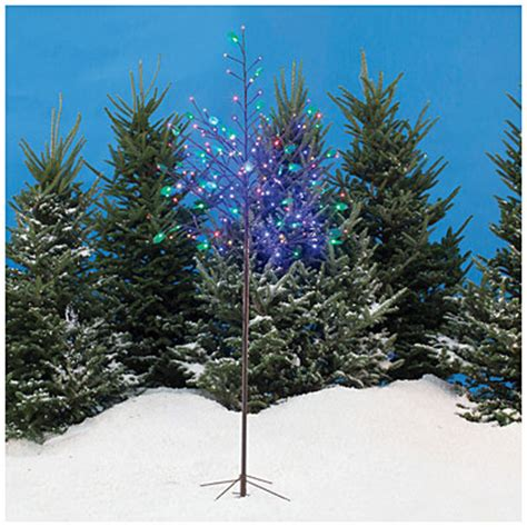 pre lit tree with twinkling lights view 6 pre lit led twinkling tree deals at big lots