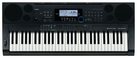 Keyboard Casio 2 Jutaan Casio Ctk 6000 Portable Electronic Keyboard 61 Key Zzounds
