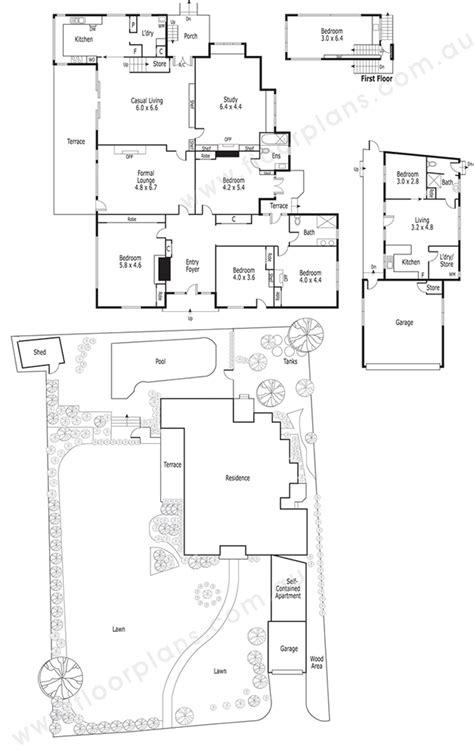 floorplan dimensions floor plan and site plan sles