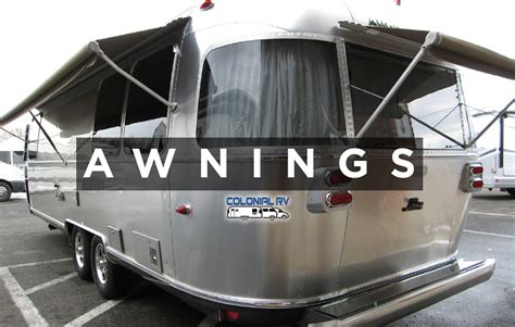 zipdee awnings airstream travel trailer zip dee awning upgrade