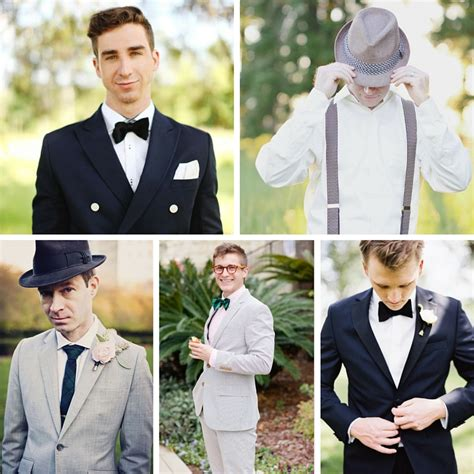 Vintage Wedding Attire For Groom by 20 Stylish Grooms Groomsmen Looks For A 1950s Wedding