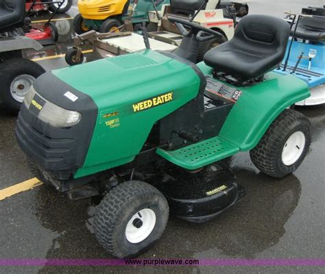 weedeater riding mower review