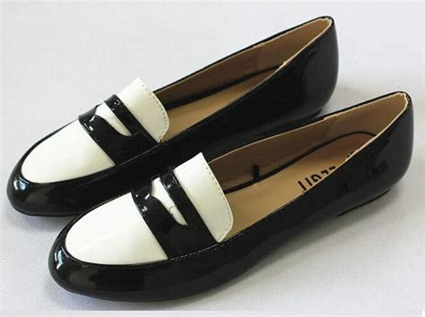 Black And White Flat Shoes black and white flat shoes snocure