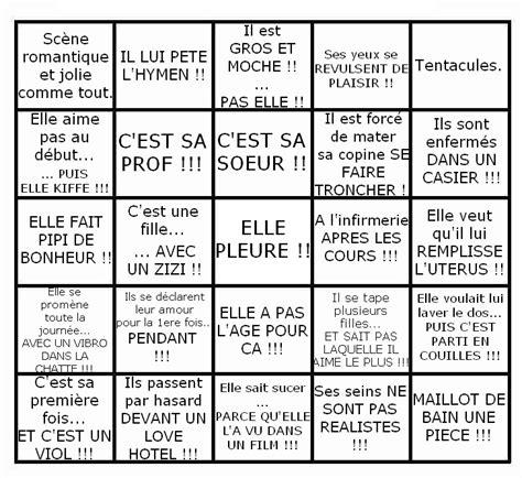 Grille De Bingo by N 233 Ant Sept 2 Top 7 Des Grilles De Bingo En Tout Genre