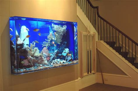 built in aquarium design just add water s spectacular aquatic concepts