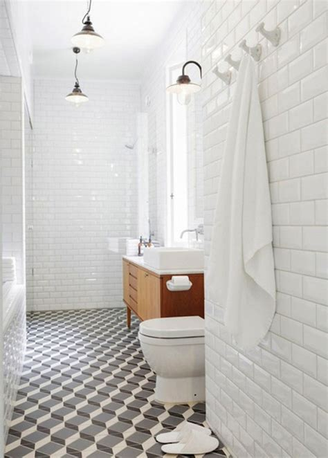 tiled bathroom ideas 30 ideas for using wainscoting subway tile in a bathroom