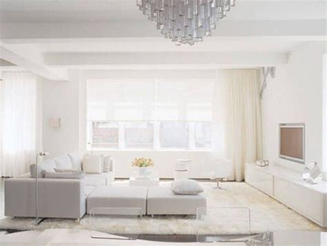 All White Living Room | all shades of white 30 beautiful living room designs