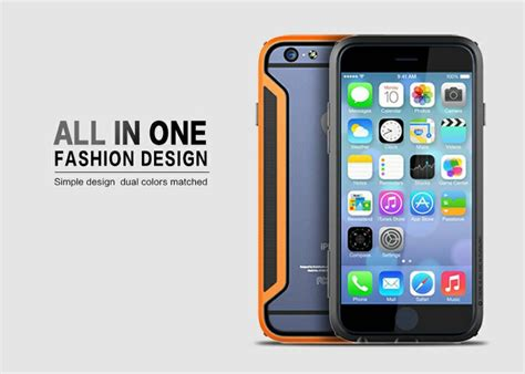 Jual Nillkin Metal Border Bumper Frame Iphone 6 bumper nillkin iphone 6 armor border series casingcoverhape