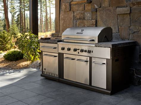 Patio Kitchen Grill Outdoor Kitchen From Hgtv Home 2014 Pictures And