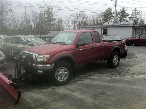 Snow Plow For Toyota Tacoma File Toyota Tacoma Truck Fitted With Snow Plow Jpg