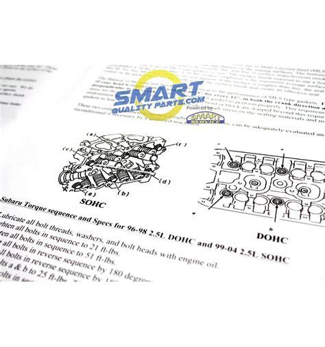 build   subaru head gasket kit