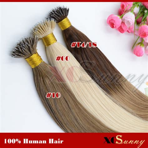 cheap 22 inch hair extensions wholesale 18 inch 22 inch ombre dip dye nano
