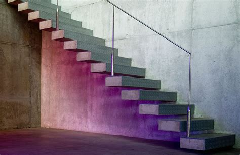 concrete stairs design concrete stairs ants house spain by espegel fisac