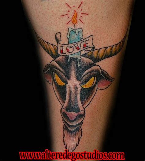 goat tattoo goat images designs