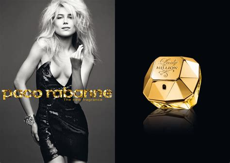 paco rabanne launches   fragrance lady million