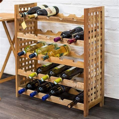 25 Bottle Wine Rack by Castleton Home 25 Bottle Floor Wine Rack Reviews