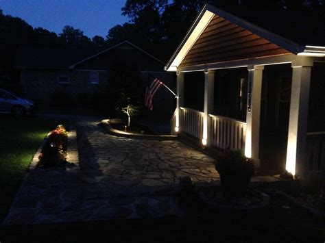 porch at night covered porch lighting expert outdoor lighting advice
