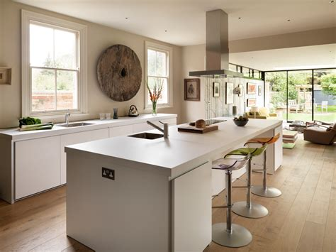 High End Contemporary Bar Stools by High End Kitchens Kitchen Contemporary With Aga Architects