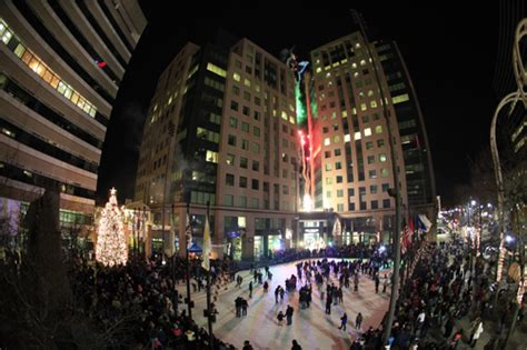 christmas in buffalo ny pictures national grid presents annual downtown tree lighting celebration in rotary rink at