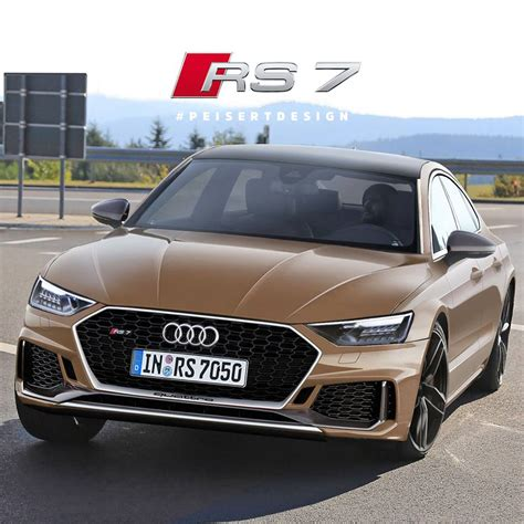 the new audi rs7 is this how the next audi rs7 sportback will look