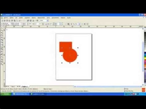 youtube tutorial corel draw x3 tutorial coreldraw x3 soldar figuras youtube