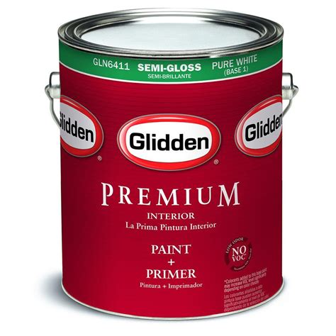 glidden professional 1 gal ultra hide 220 base 3 semi gloss interior paint gp2 5500 01 the