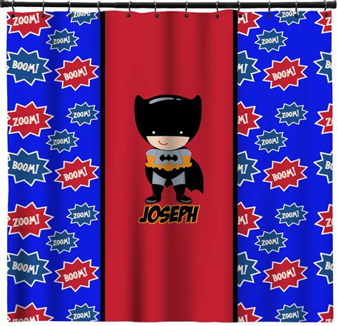 superhero shower curtains superhero shower curtain personalized potty training