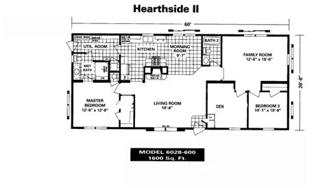new mobile home floor plans new mobile home floor plans manufactured house plans 80359