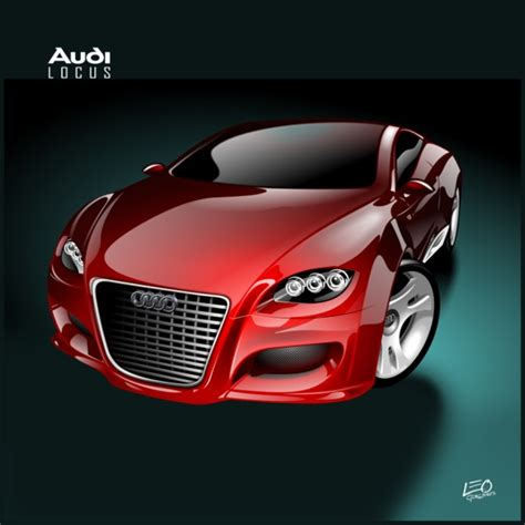 Audi Locus by Art Old Versus New Audi Locus Concept Car Body