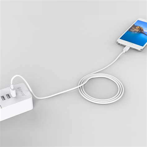 orico kabel usb type c 5a 50cm atc 05 white