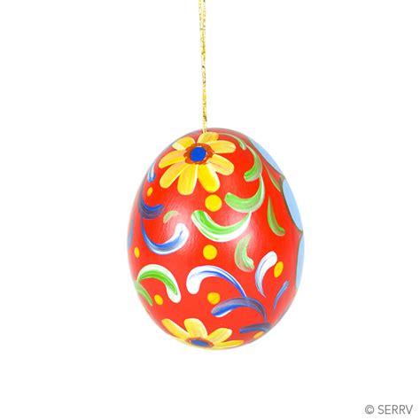 christmas ornaments ceramic egg nativity ornament