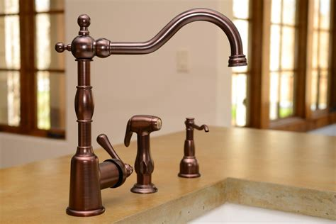 best faucets for kitchen best rubbed bronze kitchen faucets