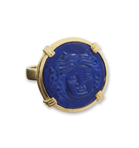 lapis sun god gold plated sterling silver ring