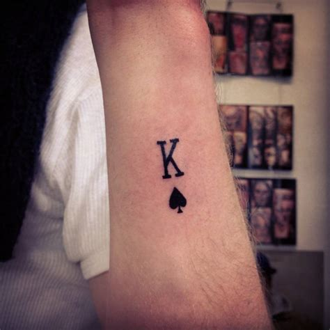 spades tattoo cards symbol www pixshark images galleries