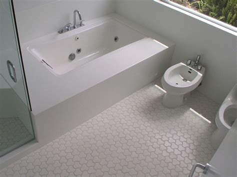 white bathroom floor tile ideas white mosaic bathroom floor tile interior
