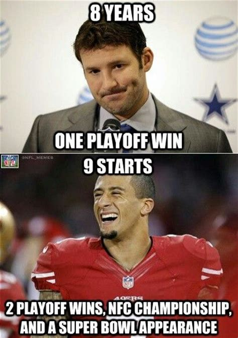 Funny Niner Memes - tony romo funny quotes quotesgram