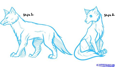 how to draw anime how to draw anime wolves anime wolves step by step