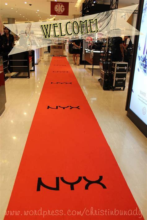 Nyx Lipstick Di Counter event report of grand opening nyx counter in tsm we are